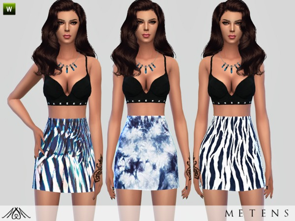Ouragan - Skirts by Metens