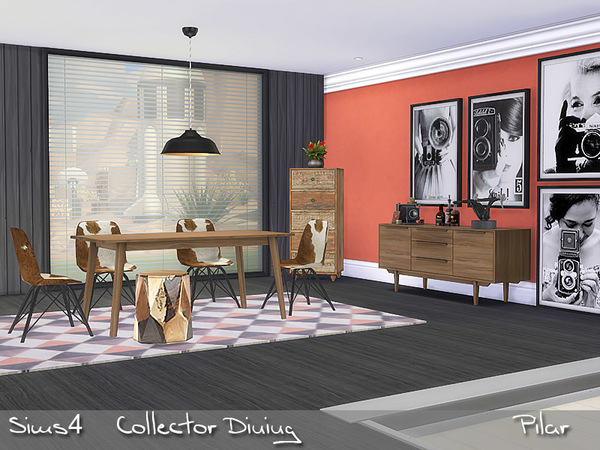 Collector Dining by Pilar