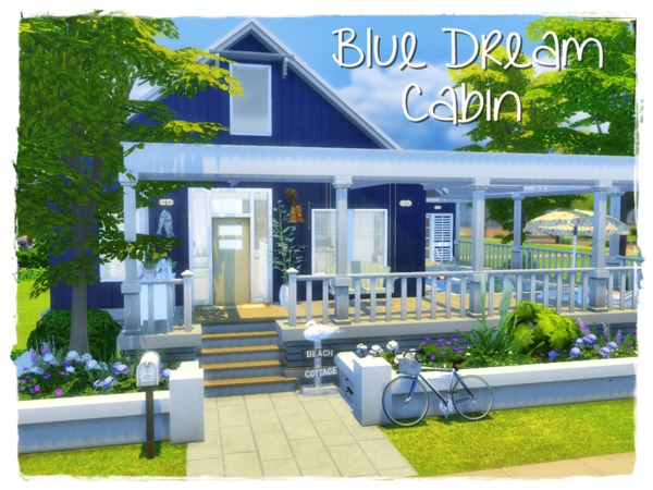 Blue Dream Cabin by Arelien