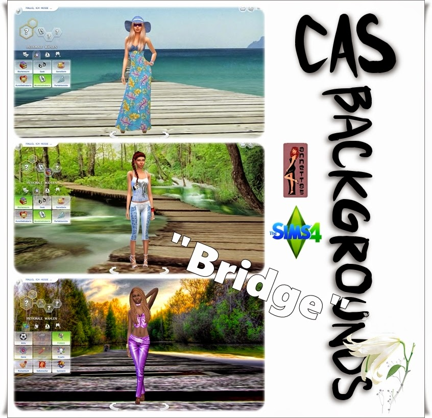 "CAS Backgrounds ""Bridge"" by annett85"