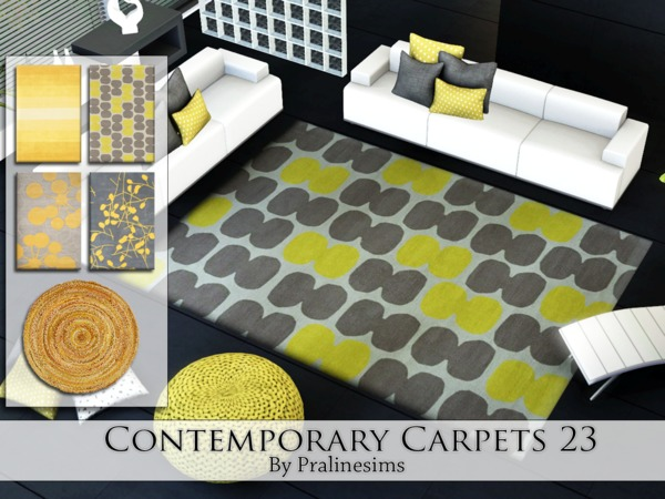 Contemporary Carpets 23 by Pralinesims