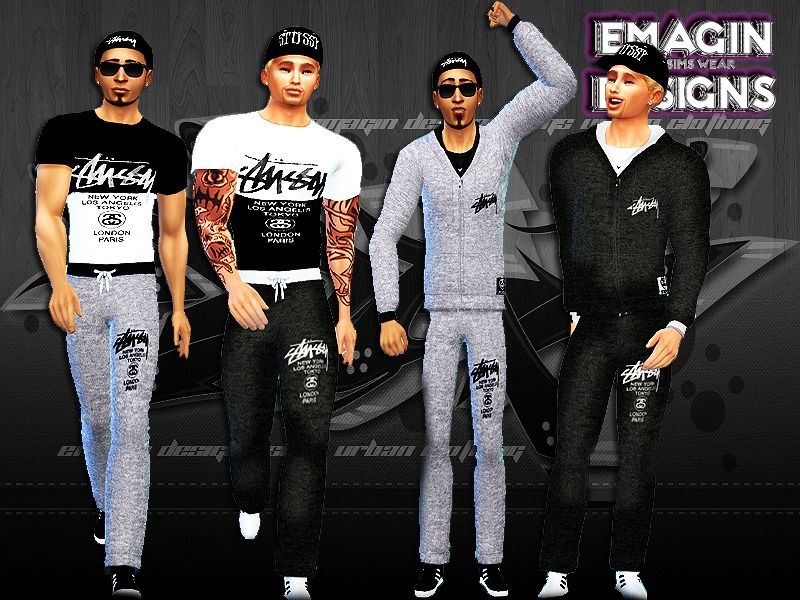 Men Stussy Outfits  BY emagin360