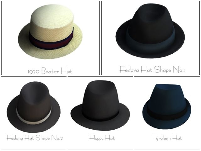 Hats for Males & Females by LonelyBoy