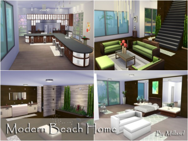 Modern Beach Home by millasrl