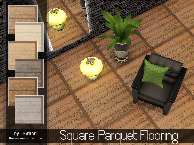 Square Parquet Flooring  BY Rirann