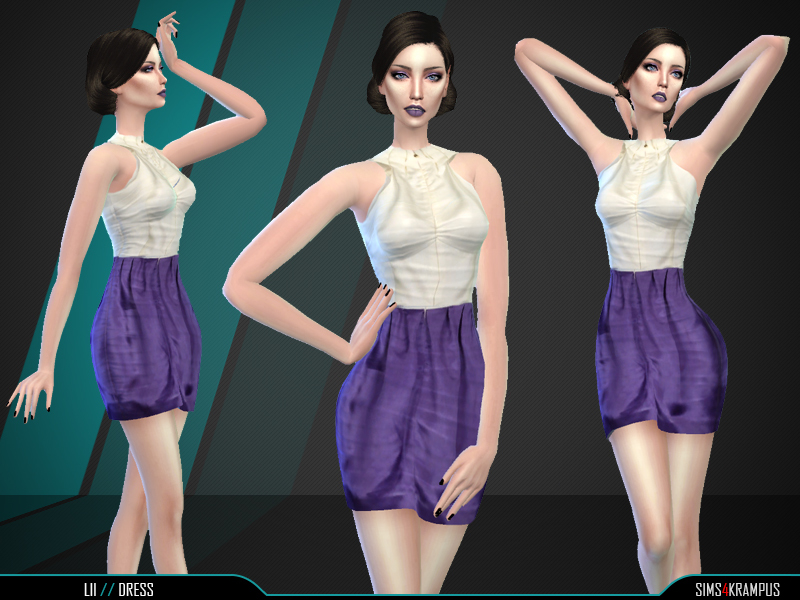 Lii Dress BY SIms4Krampus