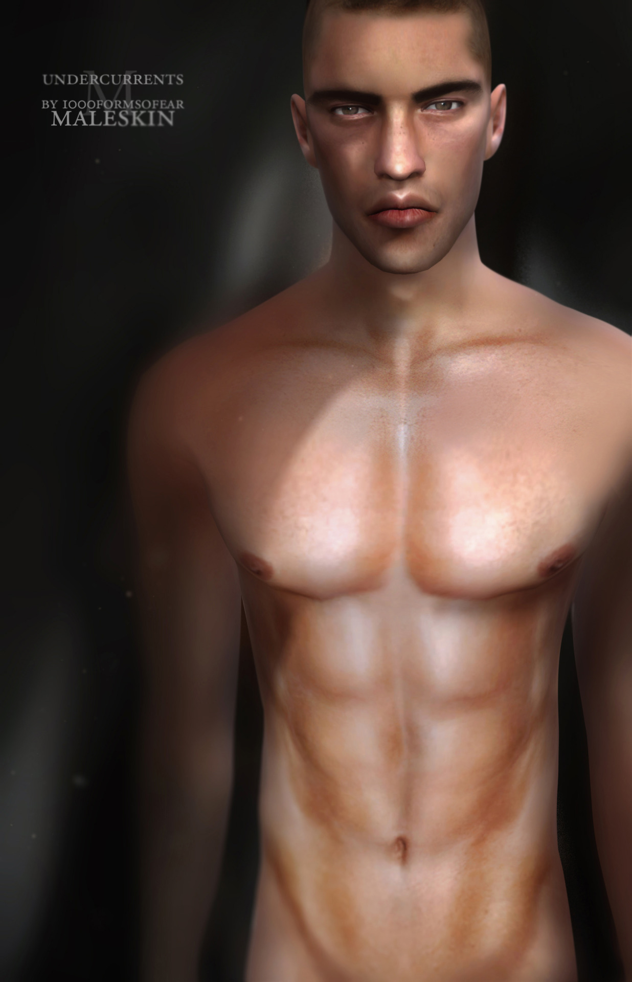 Undercurrents Skin for Males by 1000FormsOfFear