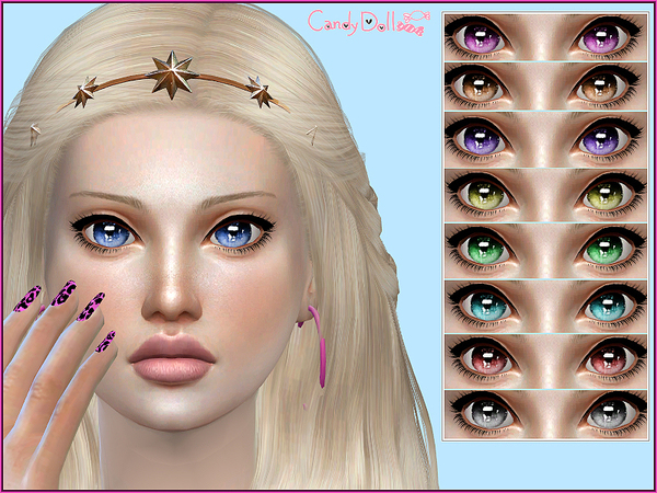 Candy Doll Candylicious Eyes by DivaDelic06