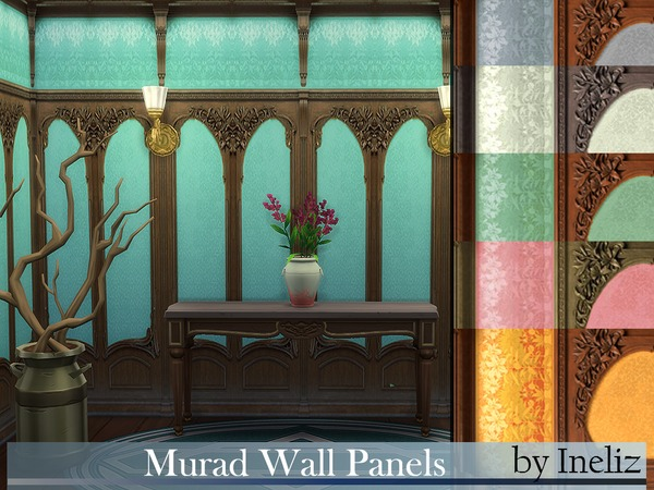 Murad Wall Panels by Ineliz