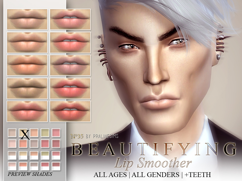 Beautifying Lip Smoother  N35  BY Pralinesims