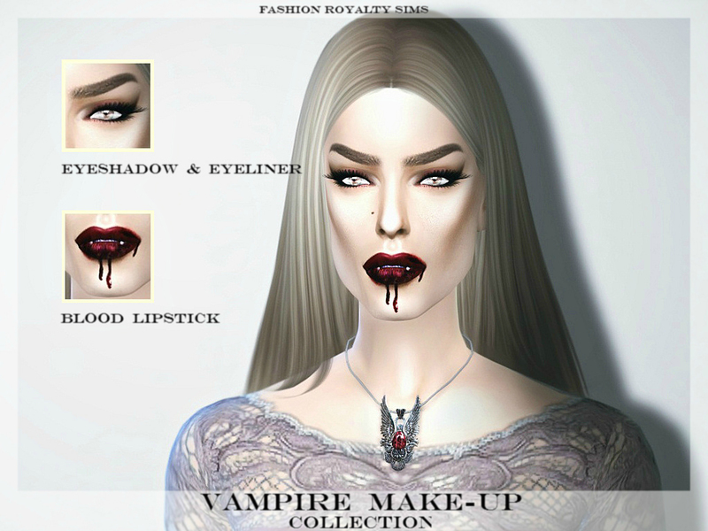 Vampire Make-up Collection by FashionRoyaltySims