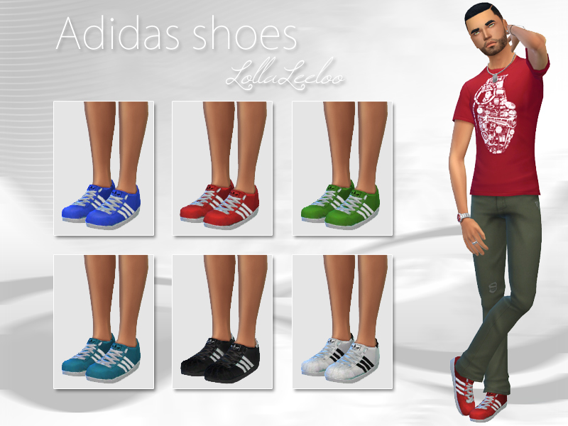 Male Adidas Shoes by LollaLeeloo  BY wjewerica