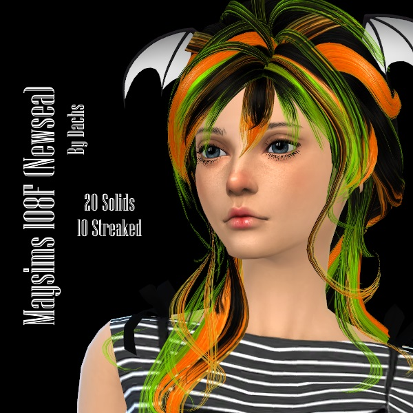 Newsea Solid & Streaked Hair Recolors by Dachs