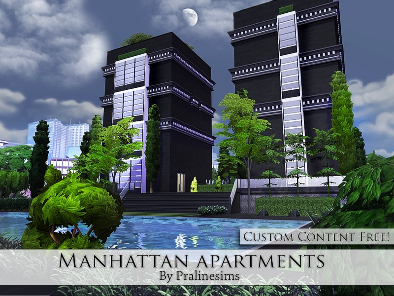 Manhattan Apartments  BY Pralinesims