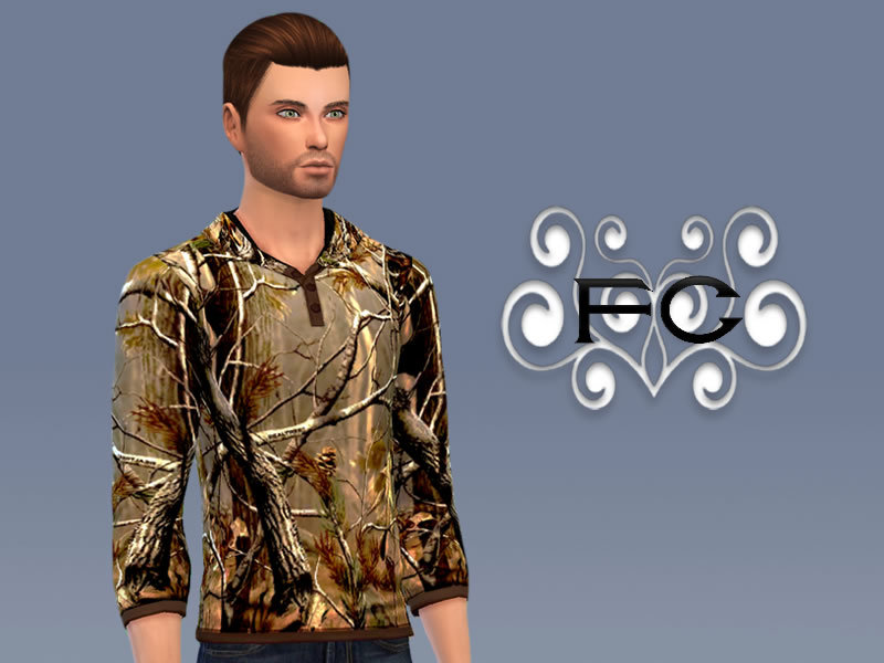 FS - Realtree Camo Shirt (For Male) BY Forsaken006