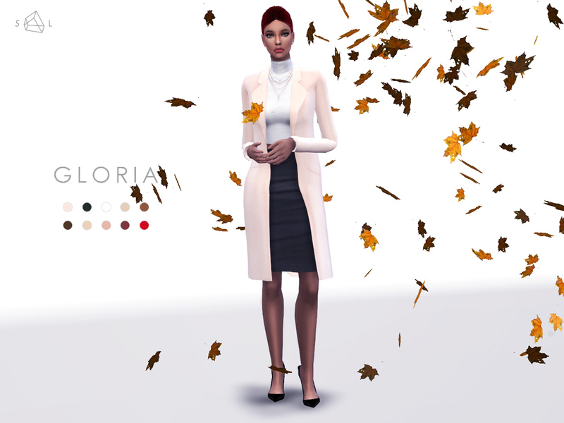 Accessory Wool Coat - GLORIA  BY starlord