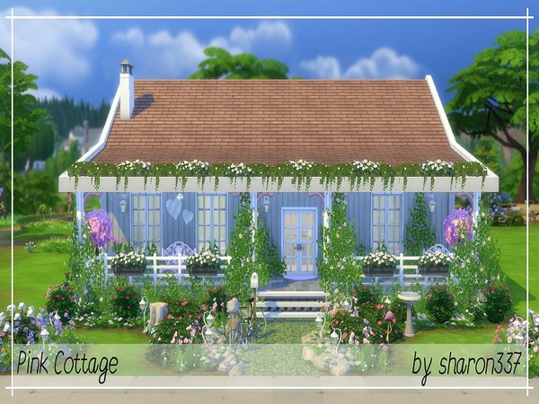 Pink Cottage by sharon337