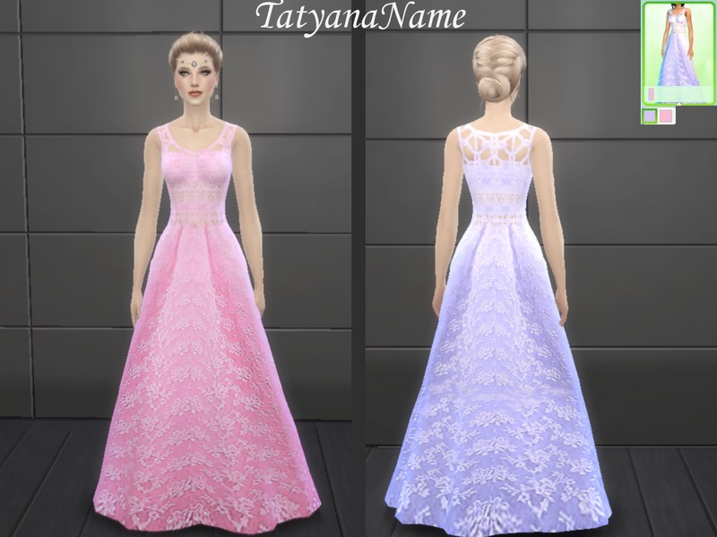 TatyanaName - Wedding dress02  BY TatyanaName
