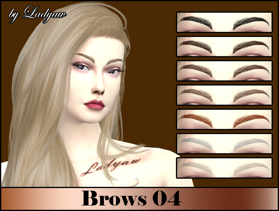 Brows 04 by Ladyaw