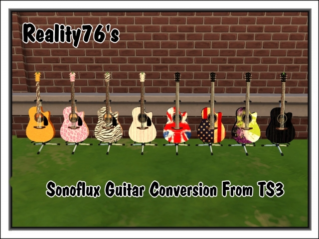 Sonoflux Guitar Converted From TS3 by Reality76