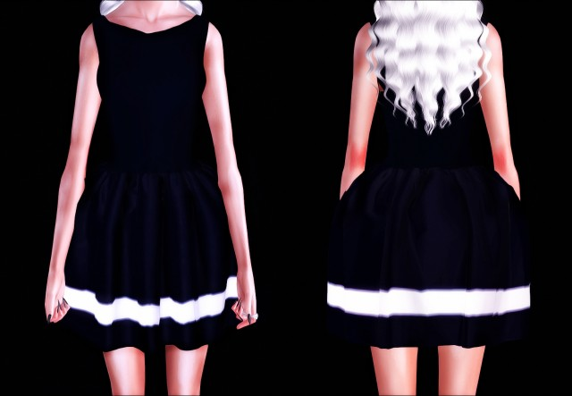 Skater Dress by Simplyiridescentsims