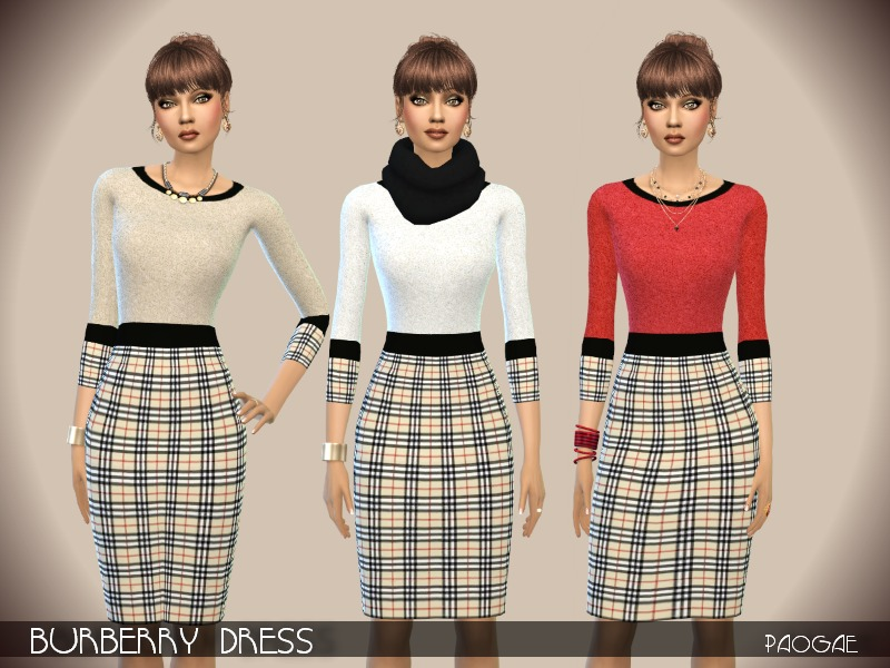 Burberry Dress  BY Paogae