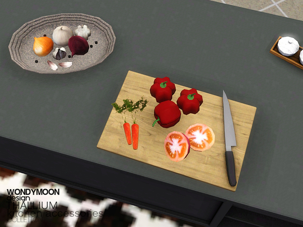 Thallium Kitchen Accessories by wondymoon