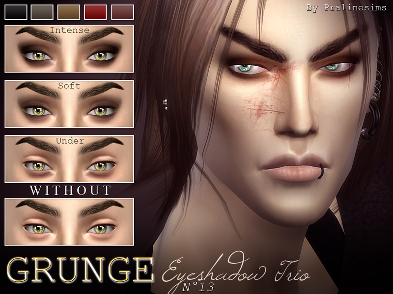 Grunge Eyeshadow Trio  N15 BY Pralinesims