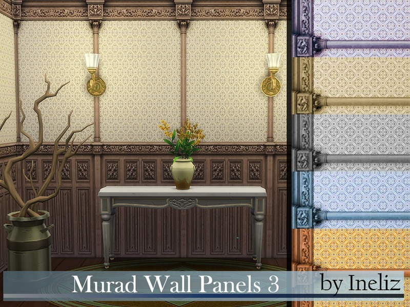Murad Wall Panels 3  BY Ineliz