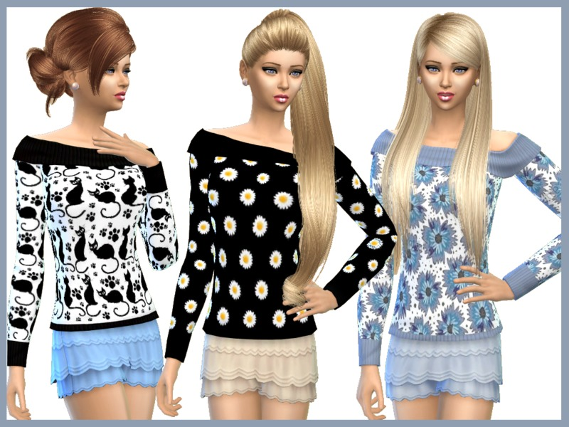 Patterned Sweaters BY SweetDreamsZzzzz