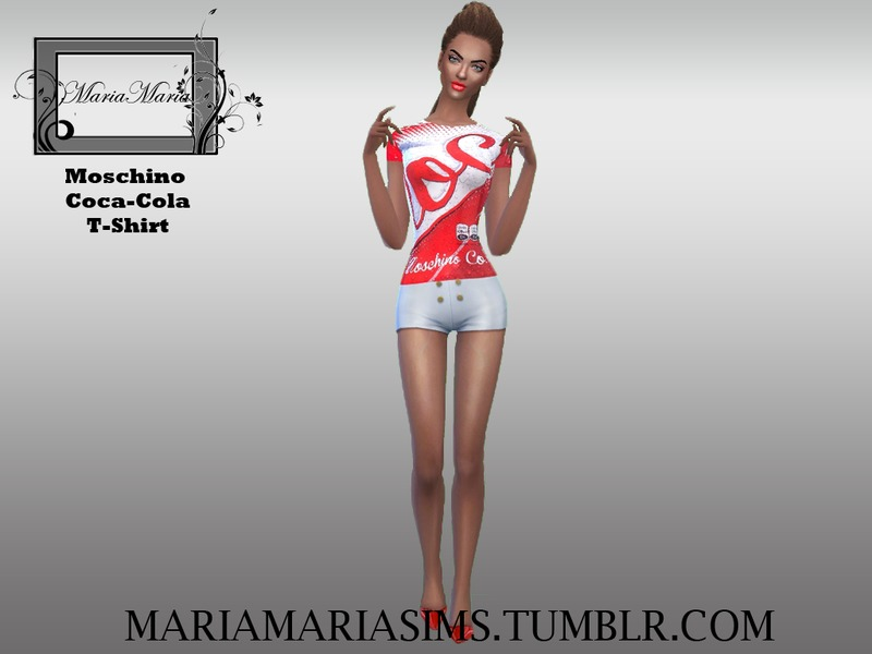 Moschino Coca-Cola T-Shirt D BY MariaMariaSims