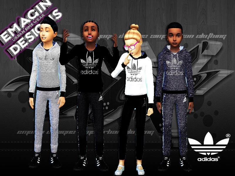 Girls & Boys Adidas Outfits Girls BY emagin360