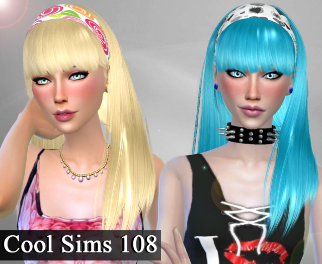 Conversion Hair Cool Sims 108 от Genius666