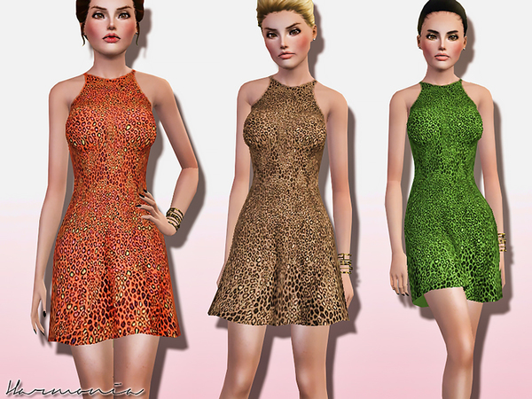 Leopard Dress is a Girlish Choice by Harmonia