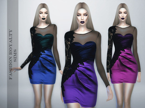SILK LACE DRESS By FASHION ROYALTY SIMS