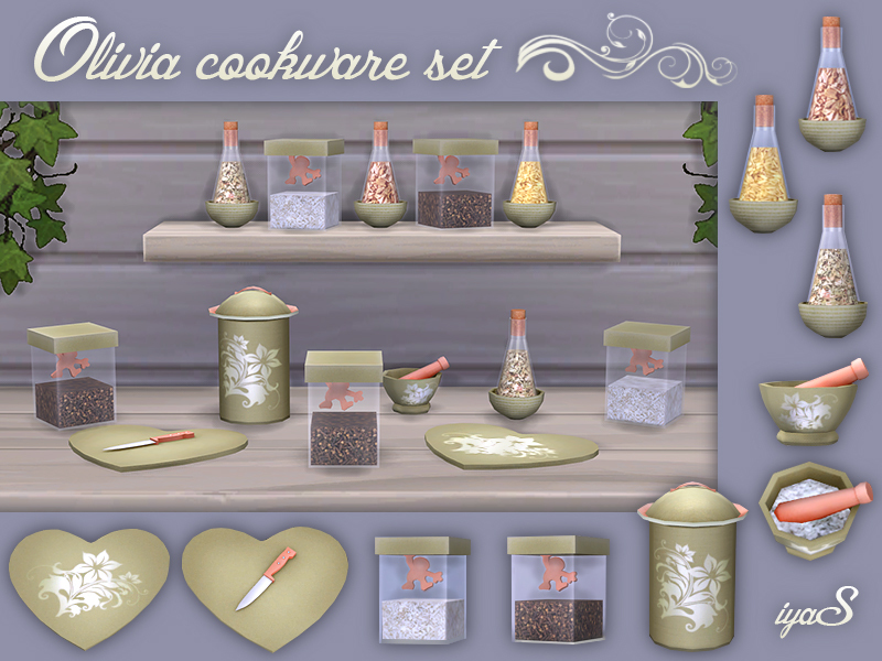 Olivia Cookware set  BY soloriya