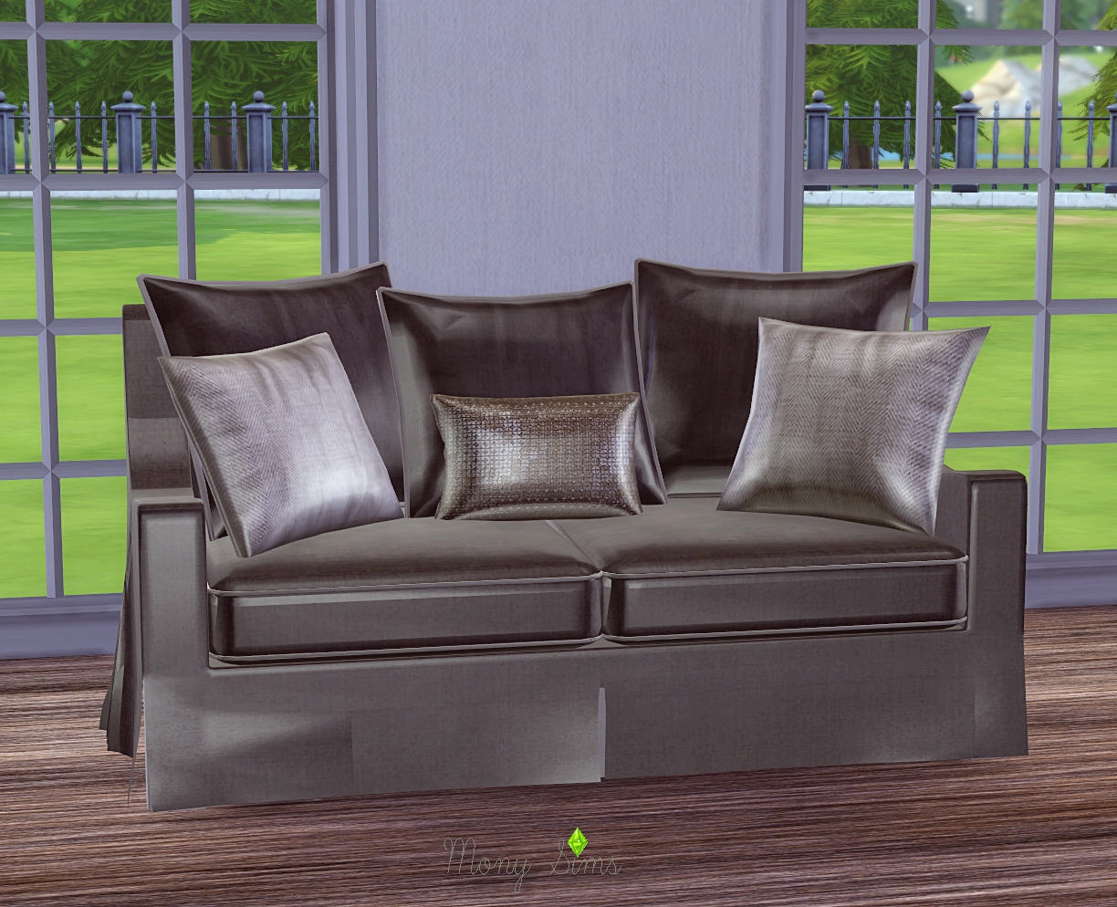 TS2 Cassandre Love Seat and Pillows Conversions by Mony Sims
