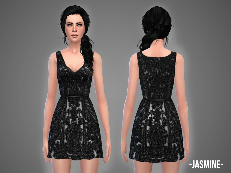 Jasmine - dress BY -April-