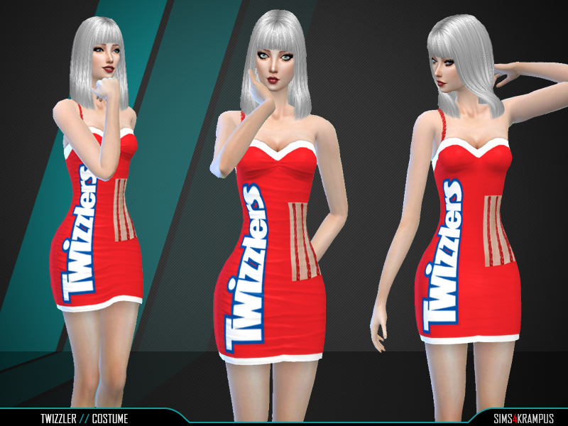 Twizzler Costume BY SIms4Krampus