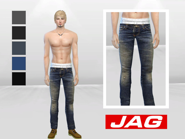 Iron Heart Denim Jeans by McLayneSims