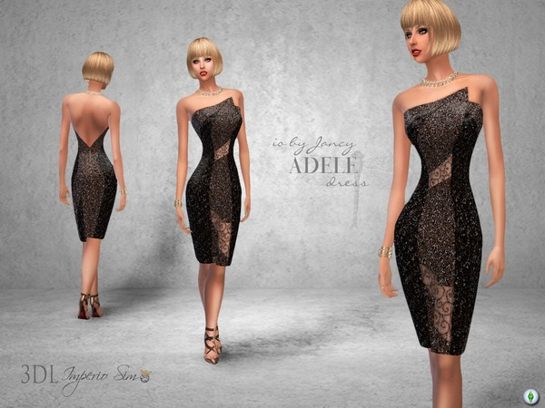 3DL Imperio Sim iO by Jancy Adele Dress by eddielle