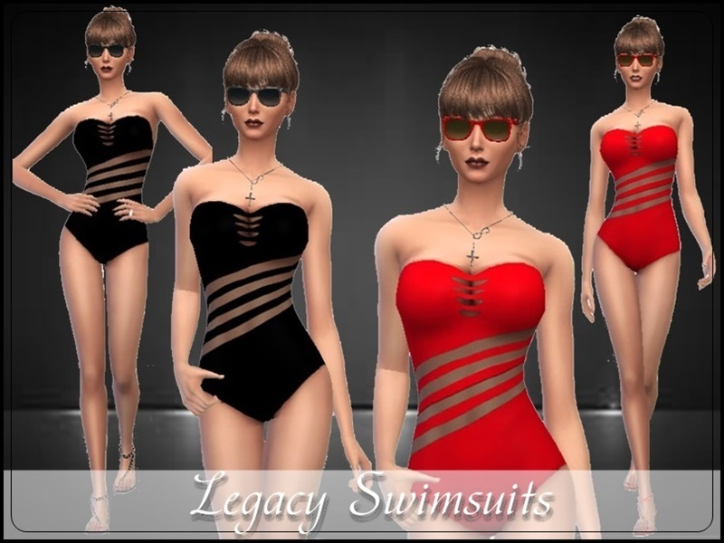 Legacy Swimsuits  BY TheSims4Magazine