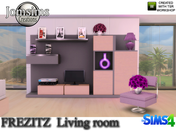 Frezizt Modern Living Room by jomsims