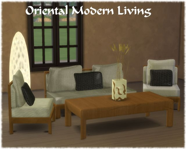 Oriental Modern Living by Semi®amide