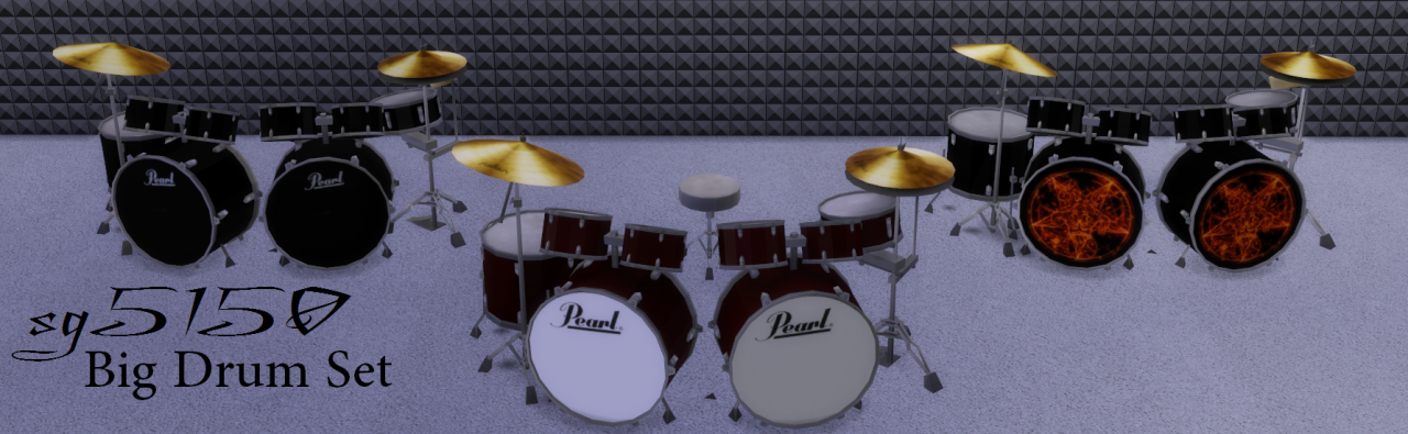 Drum Set by sg5150