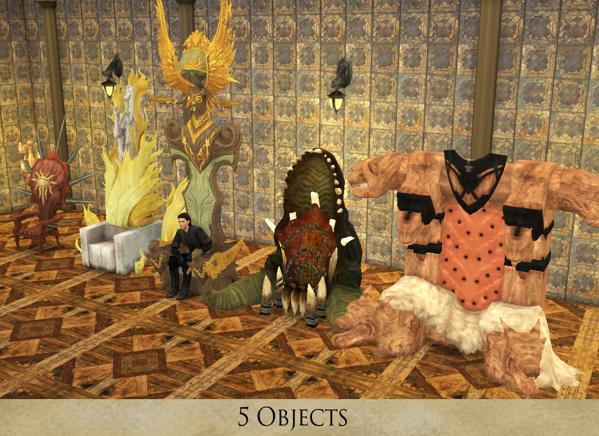 TS2 Swetoslawnas 5 Fantasy Thrones Conversions by HistoricalSimsLife