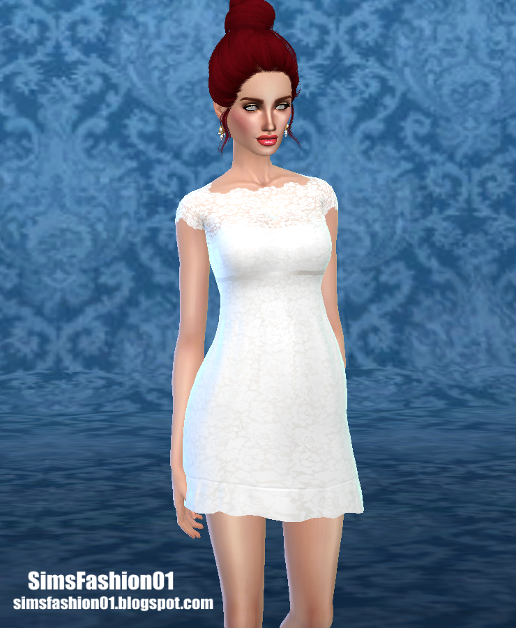Bridesmaid Dress by SimsFashion01