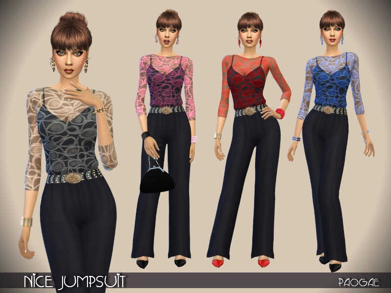 Nice Jumpsuit  BY Paogae