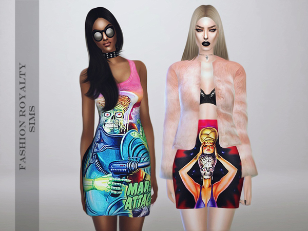 Mars Attacks Collection by FashionRoyaltySims