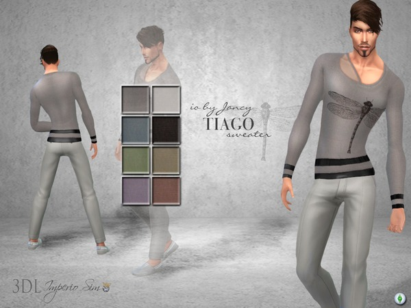 3DL Imperio Sim- iO by Jancy -Tiago Sweater by eddielle